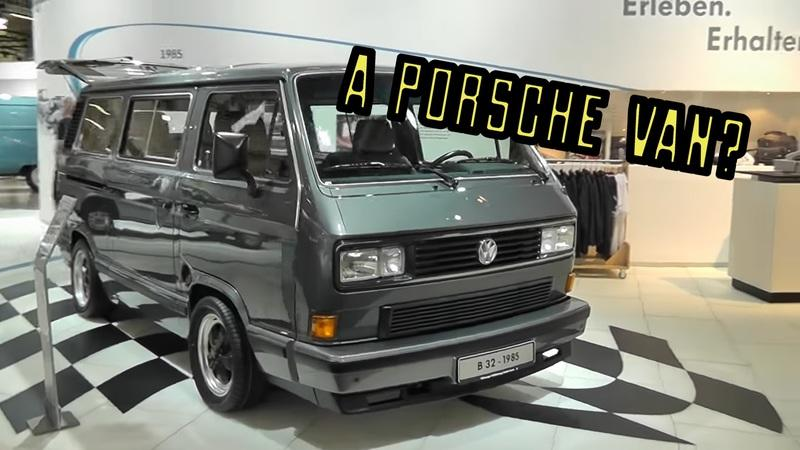 I Bet You Didn't Know About the Porsche B32 - A Porsche-Built 911-Powered Van!