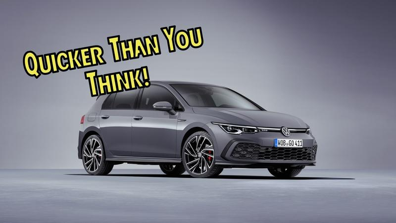 If You Thought Diesel-Powered Cars Were Slow, The 2021 Volkswagen Golf GTD Has a Story For You