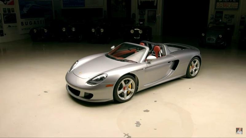 Jay Leno Has Some Interesting Thoughts On the Porsche Carrera GT
