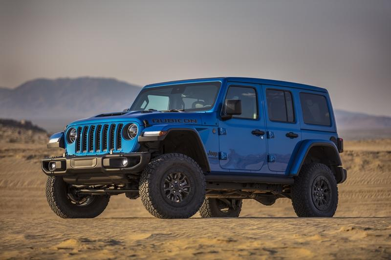 Jeep Wrangler Rubicon 392 packs 470-horsepower V-8; still off-road capable