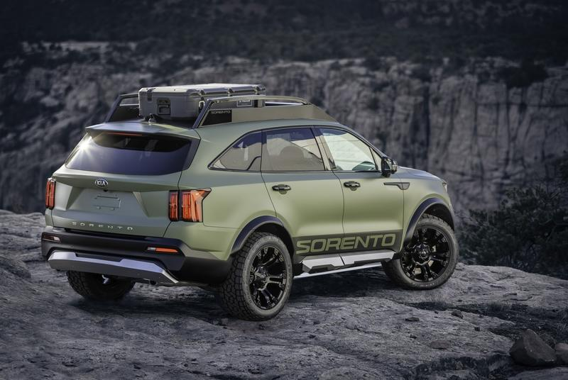 Kia Builds Two Sorento Concepts To Prove Its Wild Nature Exterior - image 949562