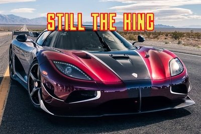 Koenigsegg Wants You To Remember That the Agera RS Still Holds The Top Speed Record
