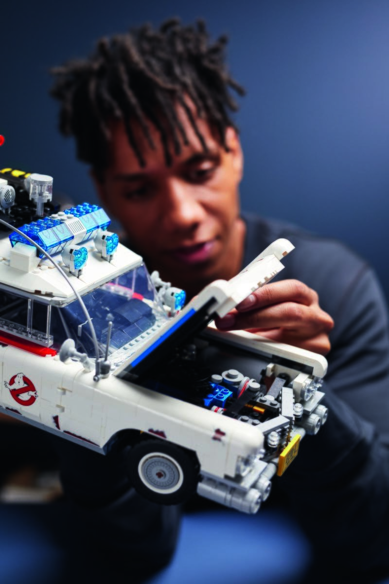Ladies: Buy Your Man This Ghostbusters Ecto-1 LEGO Set and He'll Definitely Do the Dishes for a Year