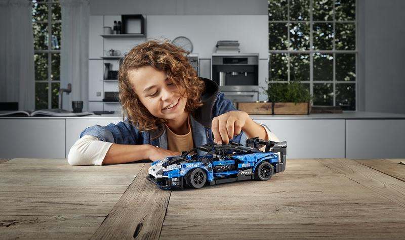Lego And McLaren Show Senna GTR Technic Set And We're Reaching for Our Credit Cards