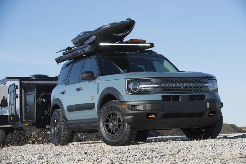 2020 MAD Ford Bronco Sport Badlands Overland Concept