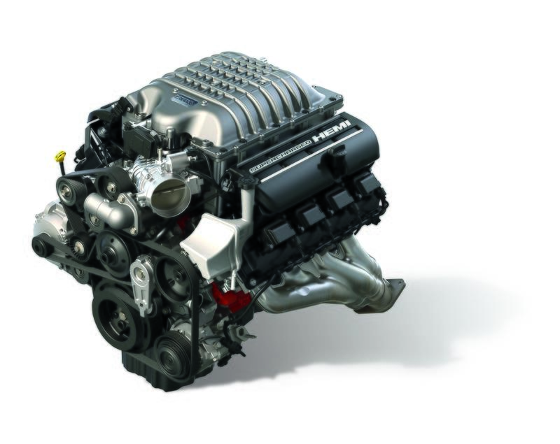 Mopar Reveals New 807-Horsepower Hellcrate Redeye Supercharged HEMI Crate Engine - image 946174