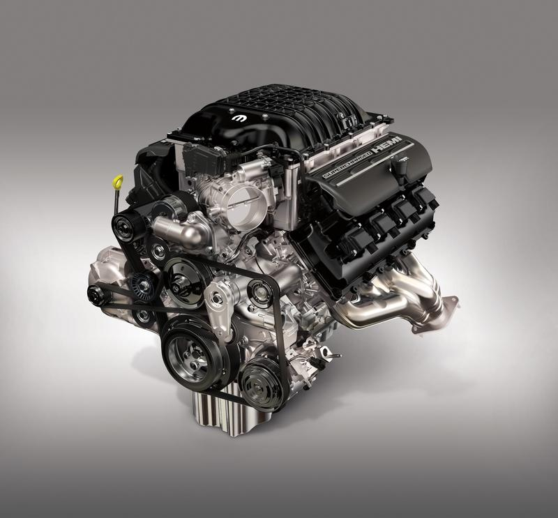 Mopar Reveals New 807-Horsepower Hellcrate Redeye Supercharged HEMI Crate Engine - image 946175