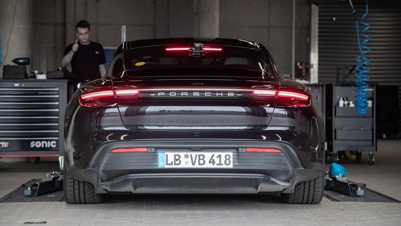 Porsche Invents Another Pointless Record With the Taycan