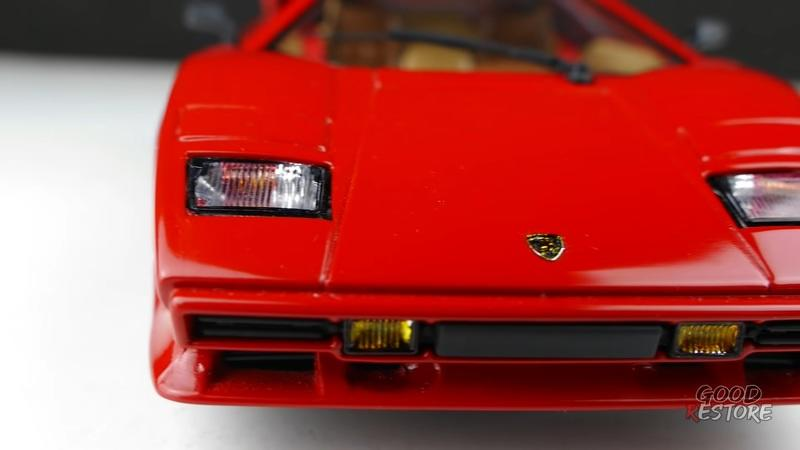 Restoring a Lamborghini Countach Die-Cast Is Hard Work, But The Result Will Leave You Drooling - image 947144