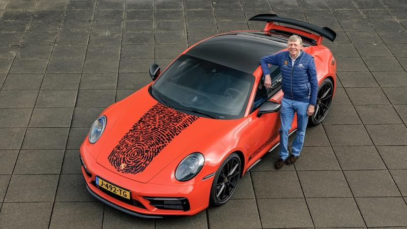 This Special Porsche 911 Carrera S Features Gijs van Lennep's Fingerprint