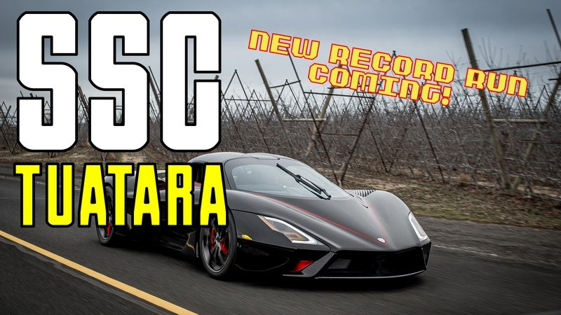 SSC Says It Will Re-Run Its Record Attempt with The Tuatara Amid Controversy