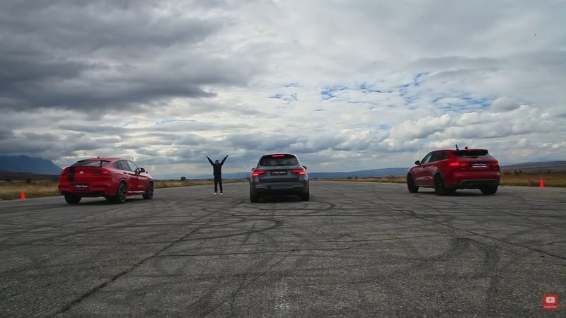 Super SUV Showdown - Can the BMW X4 M Handle the GLC 63 S and F-Pace SVR?
