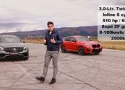 Super SUV Showdown - Can the BMW X4 M Handle the GLC 63 S and F-Pace SVR? - image 948226