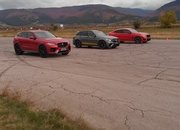 Super SUV Showdown - Can the BMW X4 M Handle the GLC 63 S and F-Pace SVR? - image 948219