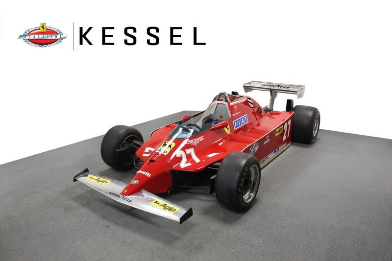 The 1980 Ferrari F1 Car Was Gilles Villeneuve's To Tame But It Can Now Be Yours