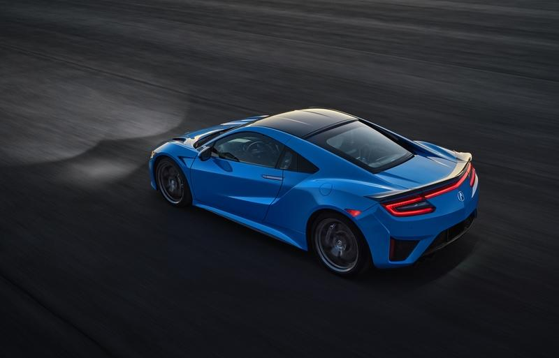 The 2021 Acura NSX in Long Beach Blue Pearl Just Redefined Gorgeous Exterior - image 947109