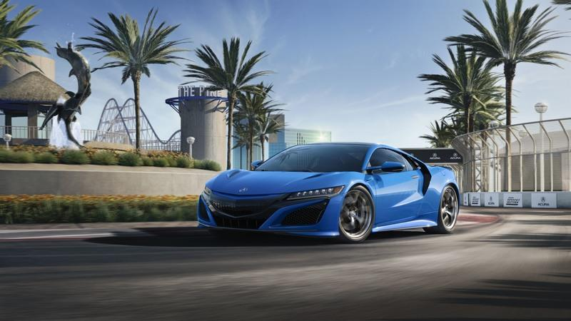The 2021 Acura NSX in Long Beach Blue Pearl Just Redefined Gorgeous Exterior - image 947108