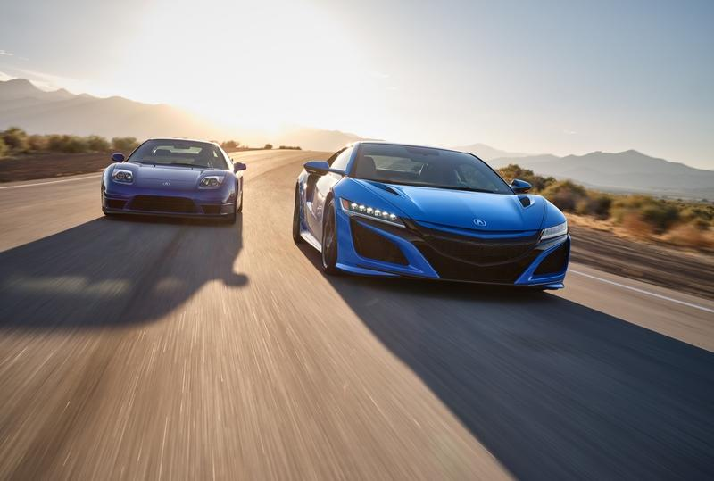 The 2021 Acura NSX in Long Beach Blue Pearl Just Redefined Gorgeous