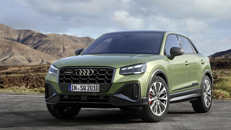The 2021 Audi SQ2 Combines Fresh Looks With Better Tech