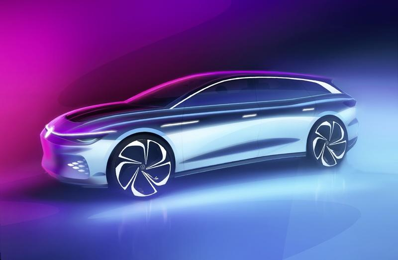 The Volkswagen ID Space Vizzion is going into production as a premium, all-electric wagon Exterior - image 948859