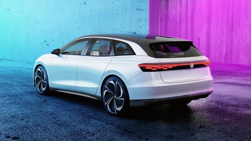 The Volkswagen ID Space Vizzion is going into production as a premium, all-electric wagon Exterior - image 948864