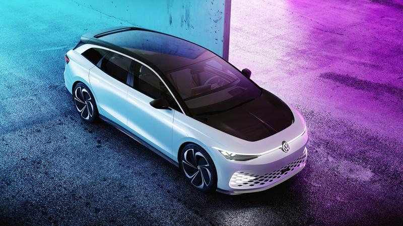 The Volkswagen ID Space Vizzion is going into production as a premium, all-electric wagon Exterior - image 948866