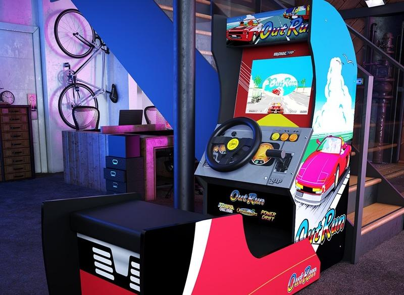 There's No Outrunning Nostalgia With This Sit-Down Arcade Cabinet