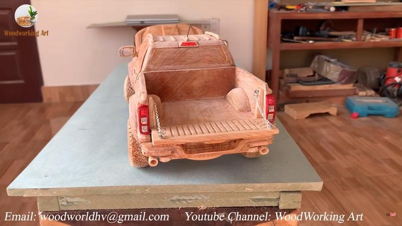 There's Something So Mesmerizing About Watching This Wooden Ford Range Raptor Come to Life - image 948903