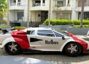 This Lamborghini Countach is Marlboro Red and Has a Lexus Twin-Turbo V-8 - image 948892