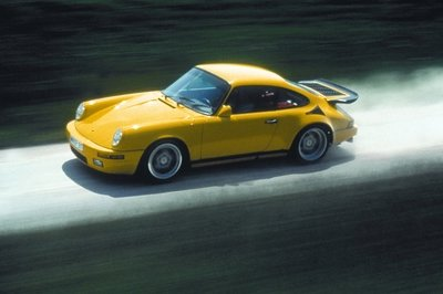 "This Ruf 911 CTR ""Yellowbird"" On the Nurburgring is Pure Gold"