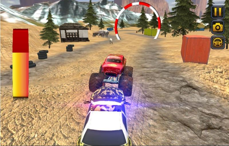 Ultimate MMX Monster Truck: Police Chase Racing