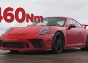 When a Bentley Continental GT and Porsche 911 GT3 Meet at the Dragstrip, Things Get Crazy - image 945911