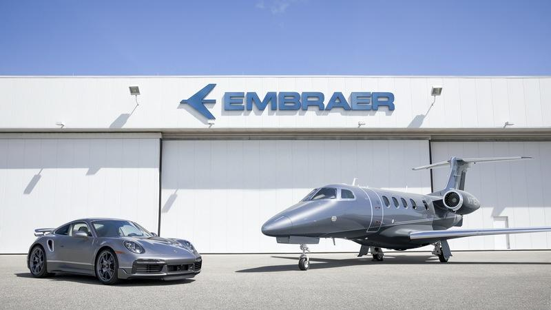 You Can Now Have a Matching Plane and 911 Turbo S Because Opulence
