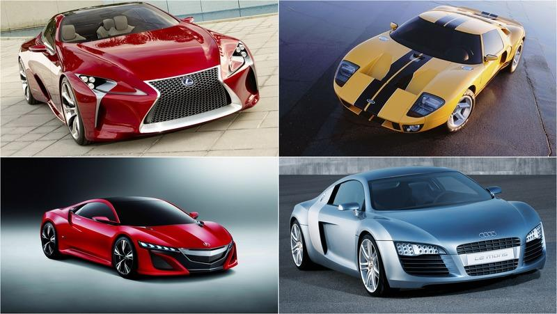 10 Concepts That Transitioned Nicely to Production Cars