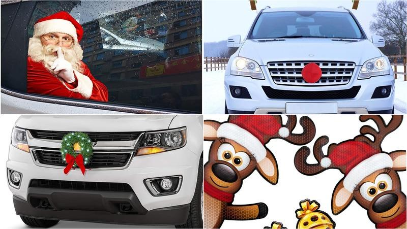 10 Ways to Decorate Your Car this Christmas