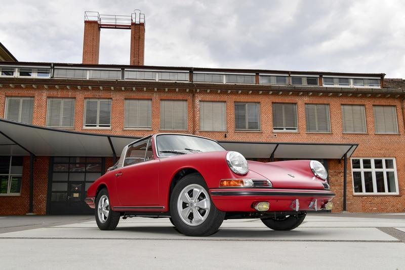This 1967 Porsche 911 S Targa Has Been Restored To Perfection