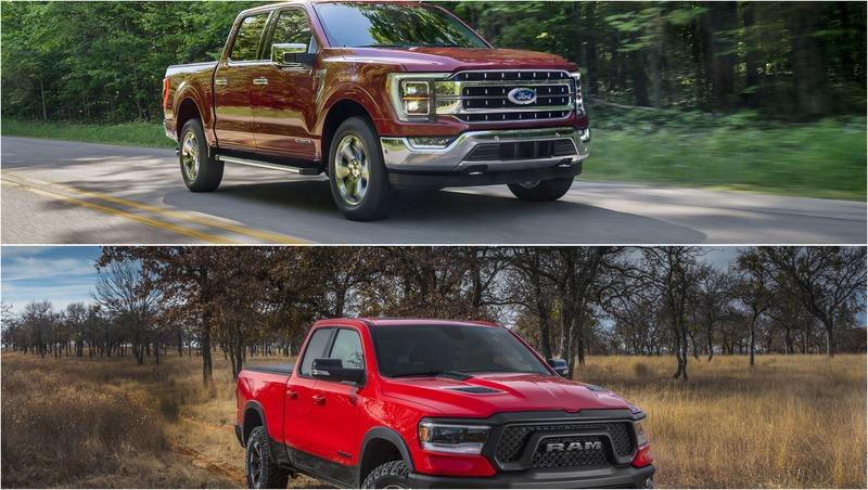 2021 Ford F-150 vs 2021 Ram 1500: Towing and Payload Capacities