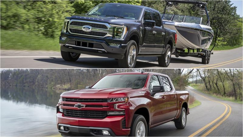 2021 Ford F-150 vs 2021 Chevrolet Silverado 1500: Towing and Payload Capacities