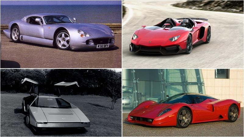 9 One-Off Supercars You Probably Forgot Existed