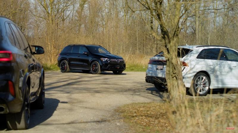 Battle of Brutes: AMG GLE 63, Audi RS Q8, and BMW X5 M Competition - image 957297