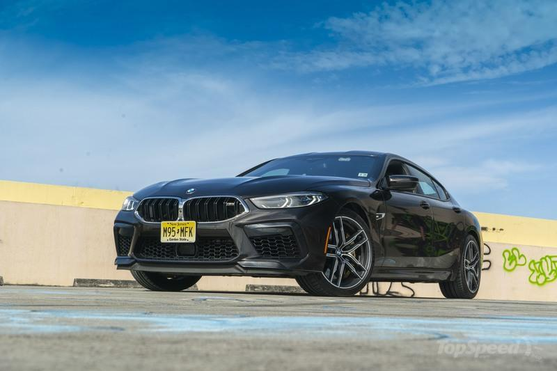 2020 BMW M8 Gran Coupe Driven Exterior - image 958432