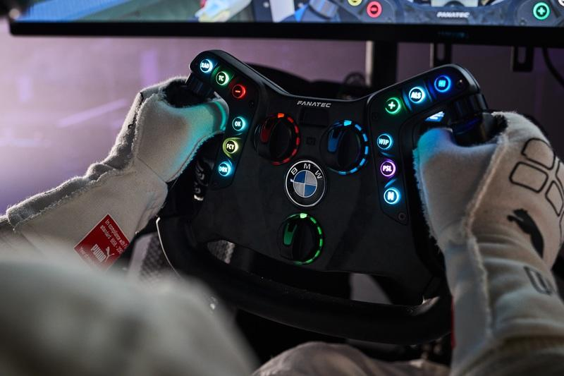 BMW's Fusion SL Furniture and GT3 Wheel Just Made Sim Racing Even More Realistic