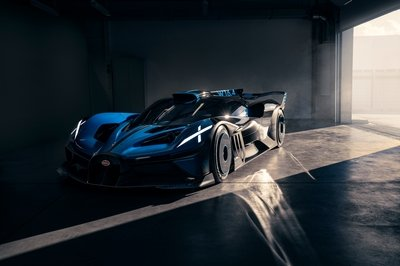 Bugatti Just Revealed the Real Bolide Concept Car in Video, But We're Not Convinced