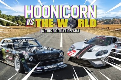 Can Ken Block's Hoonicorn Take Down a Ford GT Carbon Series?