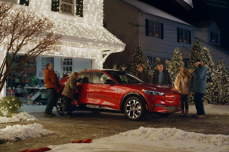The Ford Mach-E Saves Christmas for the Griswolds