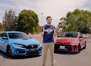 Does The Toyota Yaris GR Even Stand A Chance Against The Honda Civic Type R On The Strip? - image 961403