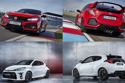 Does The Toyota Yaris GR Even Stand A Chance Against The Honda Civic Type R On The Strip?