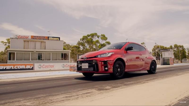 Does The Toyota Yaris GR Even Stand A Chance Against The Honda Civic Type R On The Strip? - image 961408