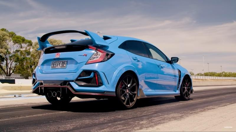 Does The Toyota Yaris GR Even Stand A Chance Against The Honda Civic Type R On The Strip? - image 961409