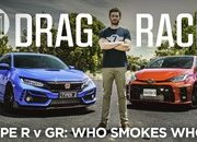 Does The Toyota Yaris GR Even Stand A Chance Against The Honda Civic Type R On The Strip? - image 961313